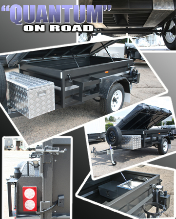 On Road Camper Trailer TCA-6001