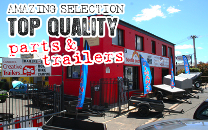 ACT's best range of box trailers