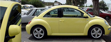 Images of the New Beetle.